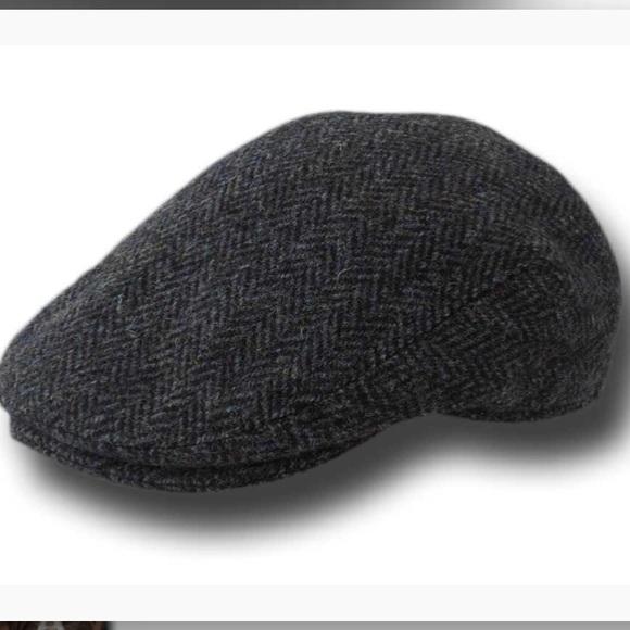 Linney Harris Tweed Wool Flat Cap 69caa32caff8